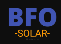Businesses of Any and All Types BFO Solar in Potchefstroom NW