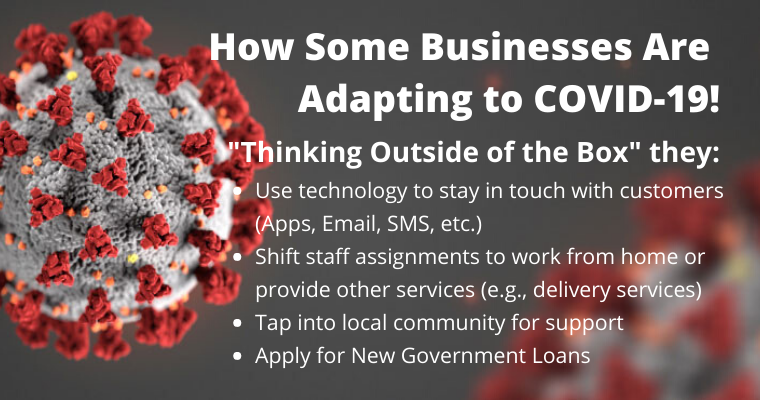 How Some Businesses are Adapting to COVID-19