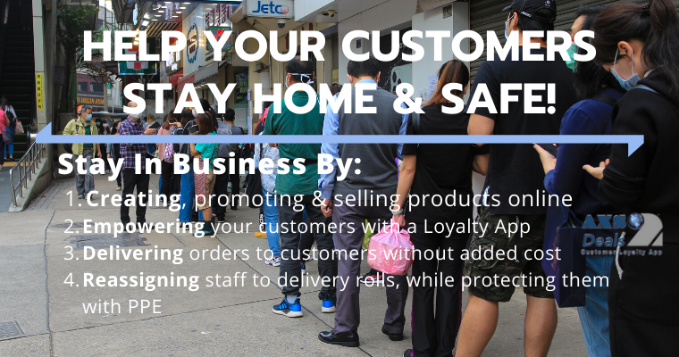 Help Your Customers Stay & Safe!