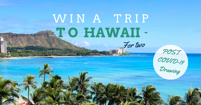 Win A FREE Trip to Hawaii