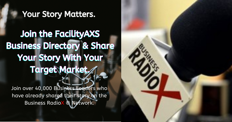 FacilityAXS Collaborates with Business RadioX