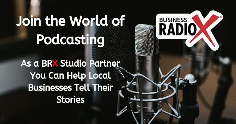 Become a Business RadioX Studio Partner
